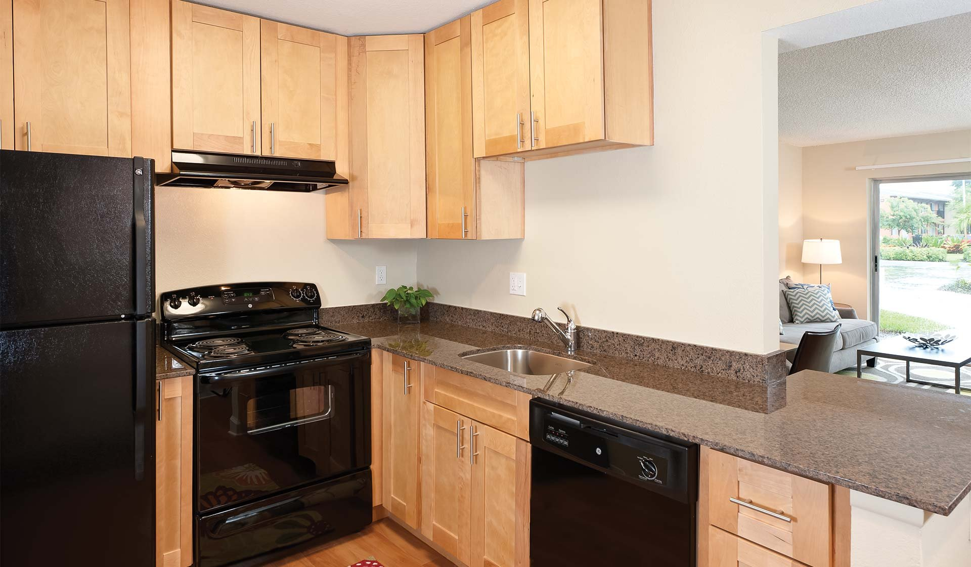 Plantation Gardens Apartments - Kitchen - Plantation, FL